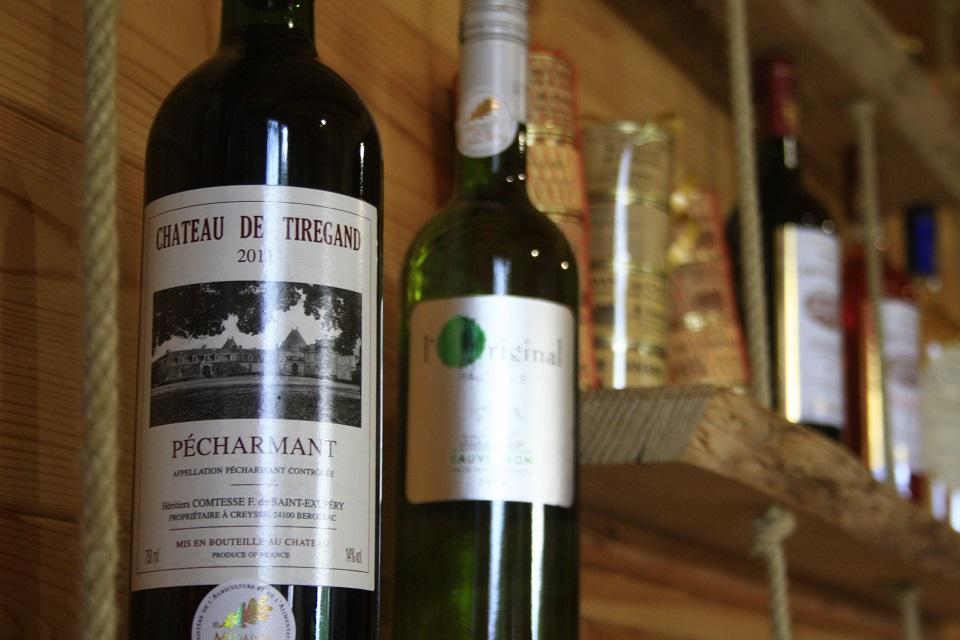 Vin rouge moelleux Bergerac