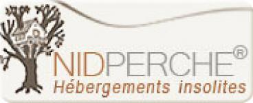 Logo de Nid Perché, les constructeurs des cabanes d'Ô bois dormant